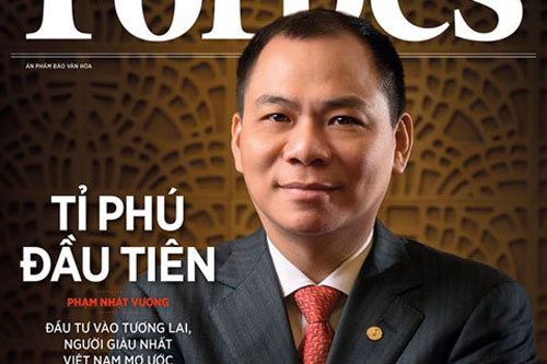 Overcoming fear, billionaire Pham Nhat Vuong set a new record